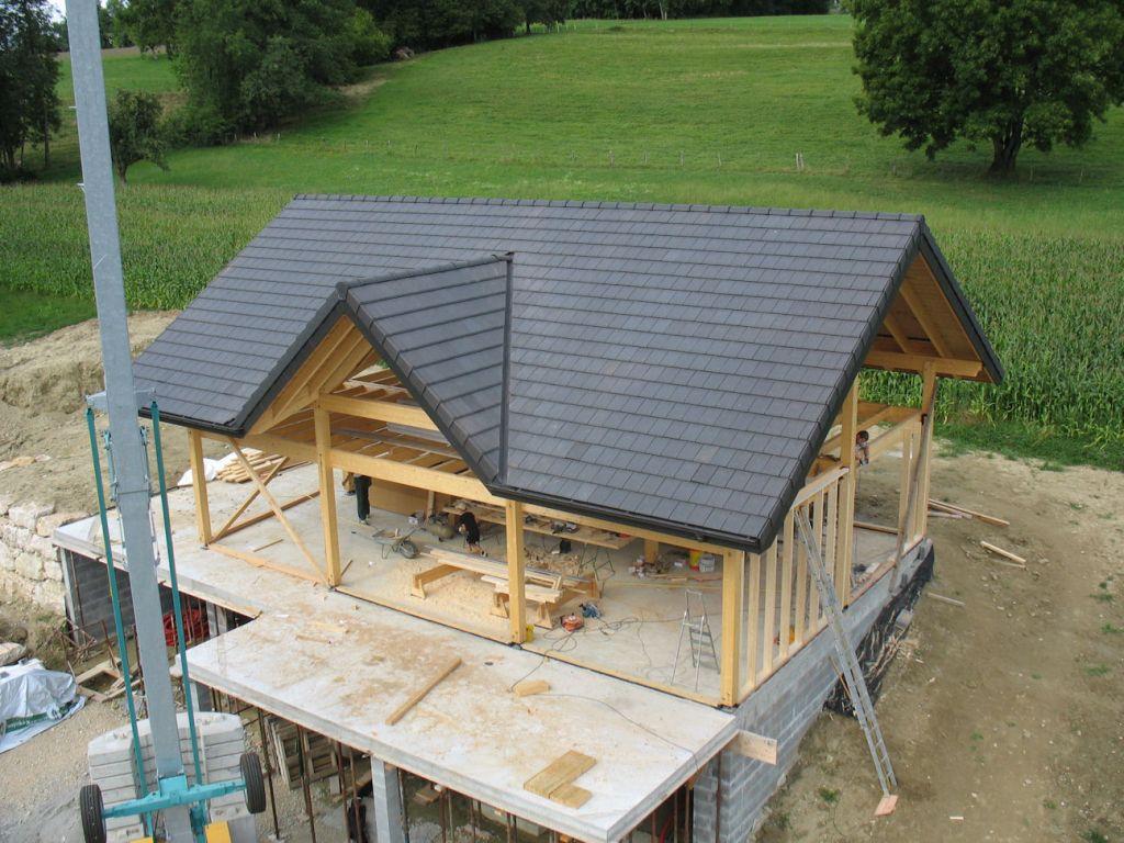 cabane couverte, encore un peu de boulot pour le HA...