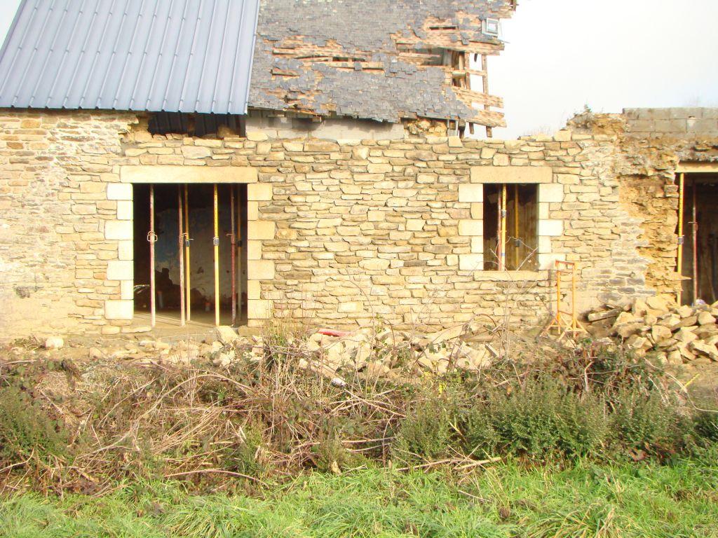1ère baie et fenêtre terminée