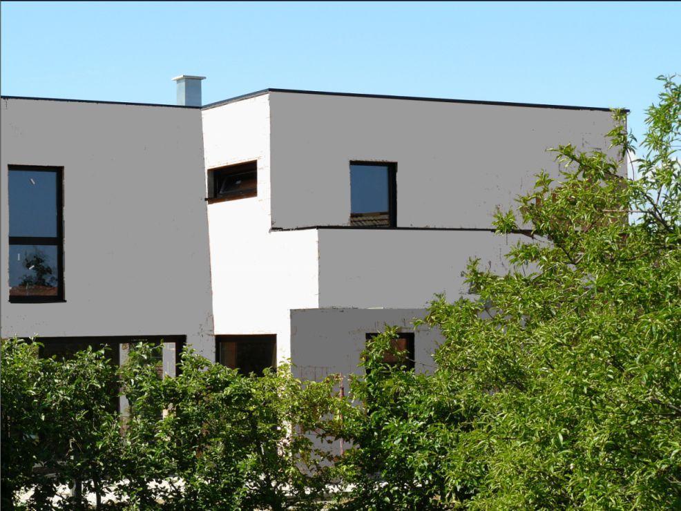 Finitions avant l 39 entr e dans la maison simulation for Simulation couleur facade