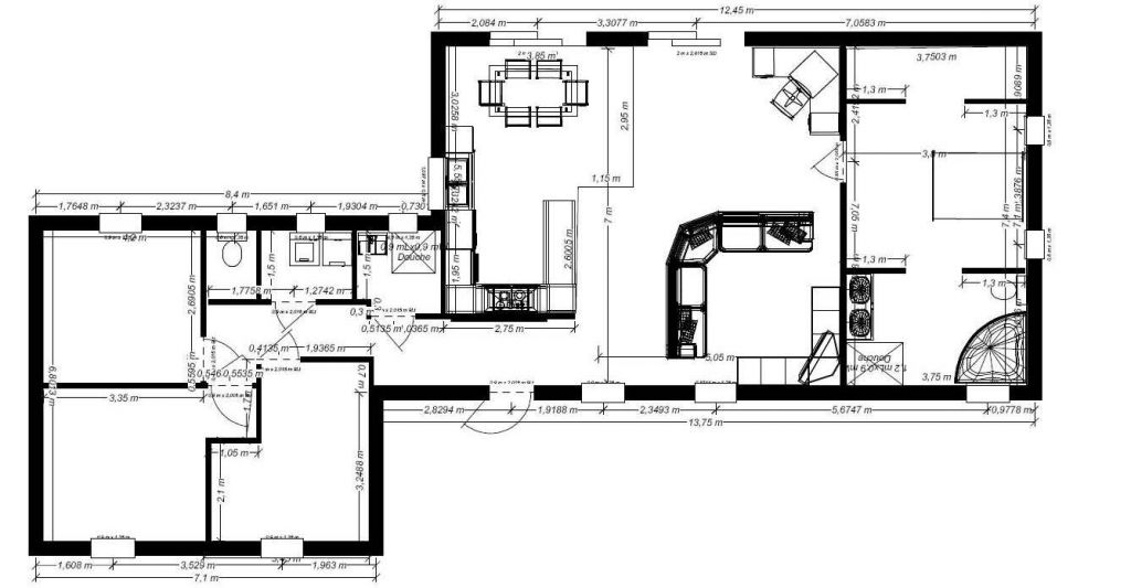 Plan maison plain pied environ 135m 12 messages for Architecte plan maison gratuit