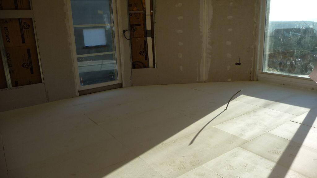 Platrerie on touche la fin plancher chauffant moselle for Plancher chauffant rehau