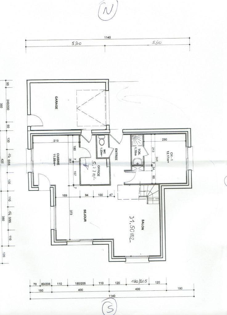 Besoin d 39 avis pour notre 1 maison sur elven 21 messages for Plan entree maison