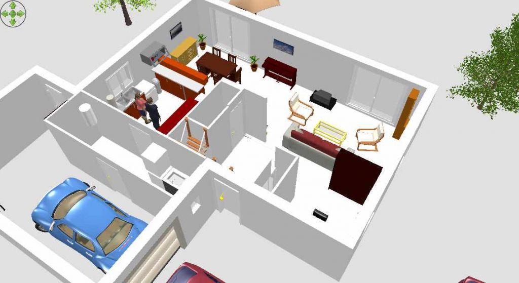 Avis implantation plan maison r 1 de 130m terrain 660m for Meubles sweet home 3d