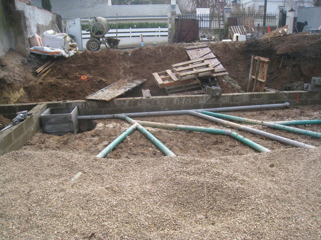 drainage en pis sous dalle dalle sous sol maconnerie sous sol hauts de seine. Black Bedroom Furniture Sets. Home Design Ideas