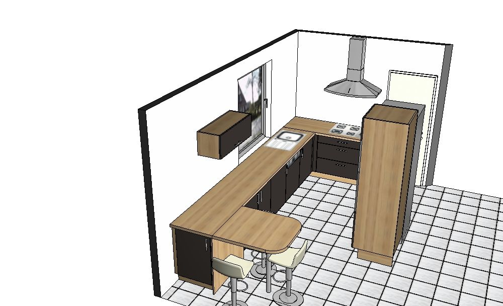 avis implantation cuisine troite 64 messages. Black Bedroom Furniture Sets. Home Design Ideas