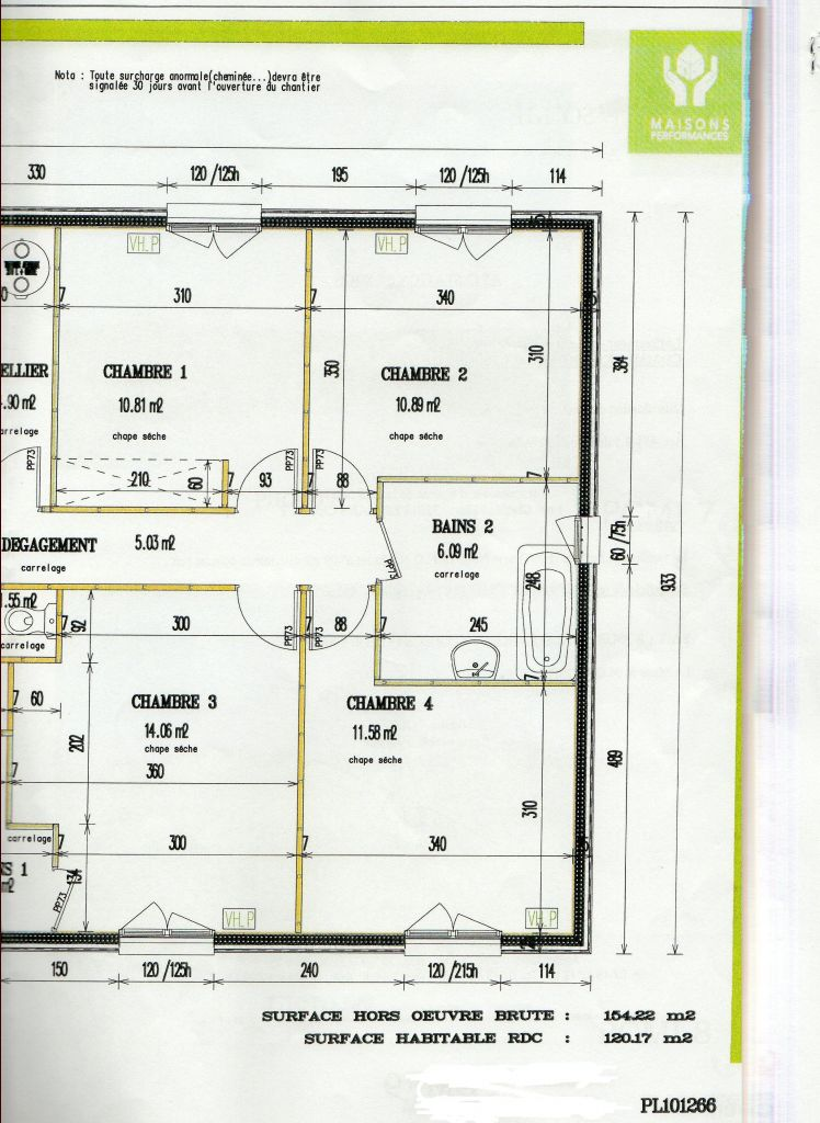 Gros oeuvre maison 120m2 for Tarif gros oeuvre maison