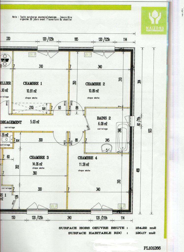 gros oeuvre maison 120m2. Black Bedroom Furniture Sets. Home Design Ideas
