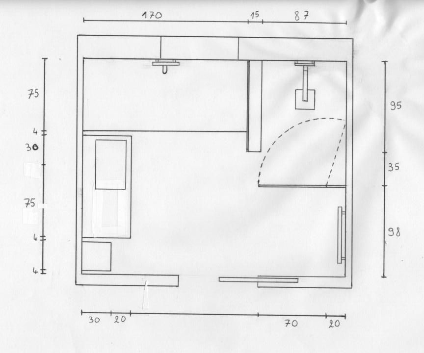 Plan salle de bains qu 39 en pensez vous 45 messages page 3 for Agencement salle de bain 8m2