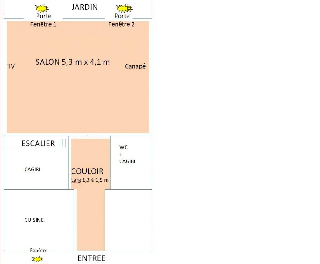 sens pose parquet (salon pas dans le sens de la lumière) - 15 messages - Parquet Perpendiculaire A La Fenetre