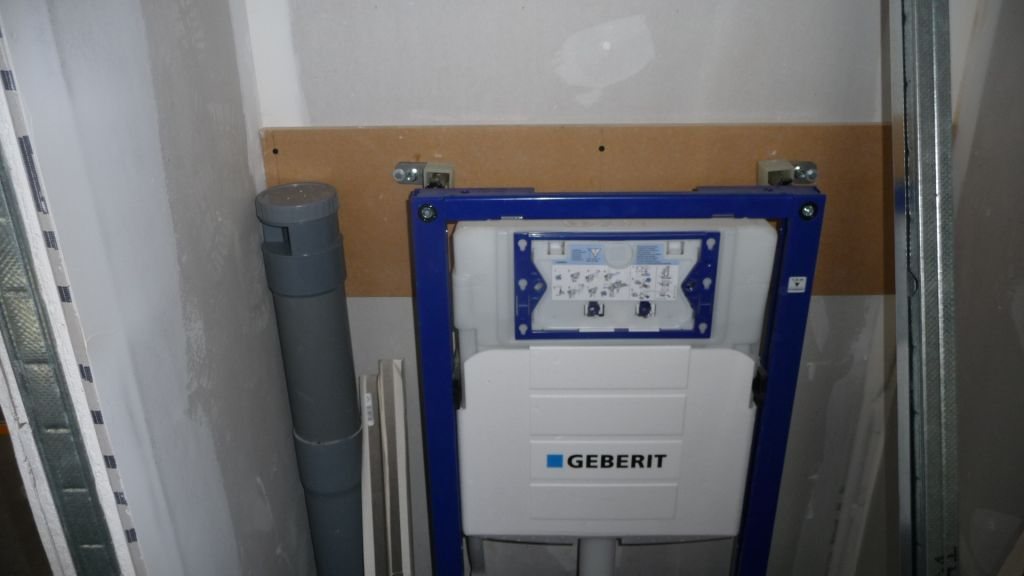 Geberit wc suspendu pose wc suspendu geberit coffrage wc for Pose wc suspendu geberit