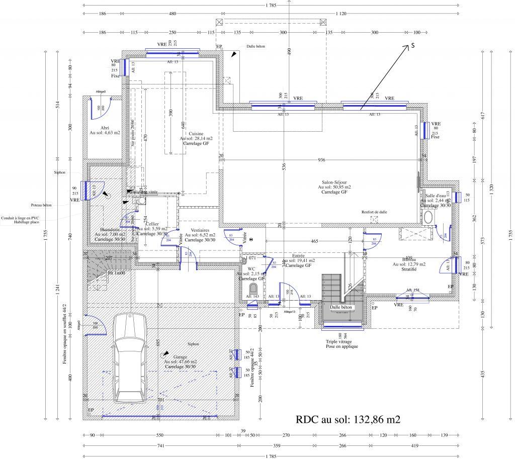 Maison toit plat besoin conseils sur plans 12 messages for Plan maison toit plat 150m2