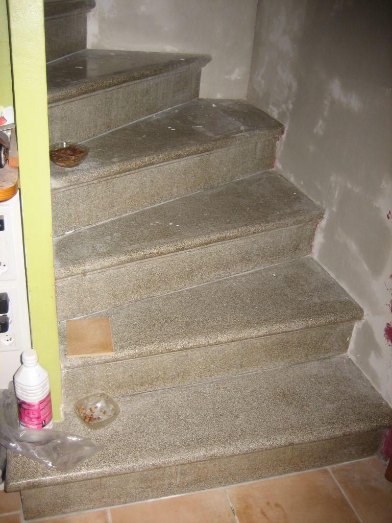 Peindre Un Escalier En Gris relooking d'un escalier en granito - 52 messages