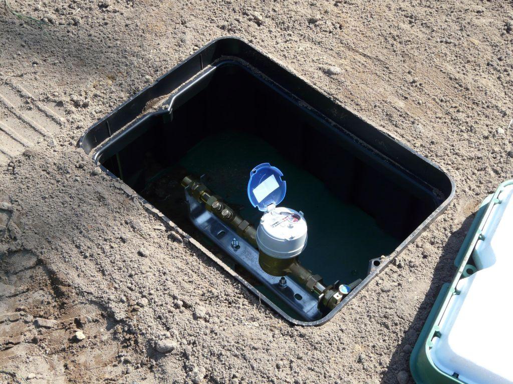 Branchement eau