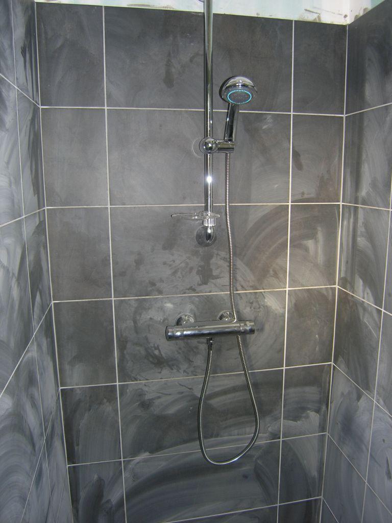 Douche à l'italienne dans suite parentale
