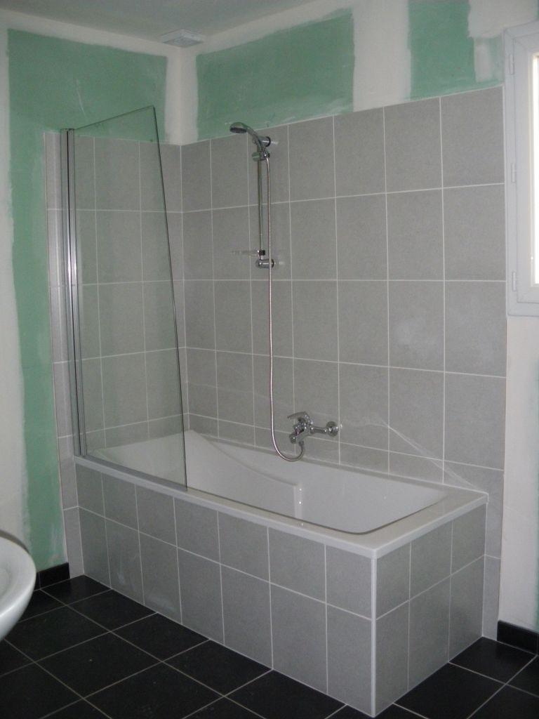 Salle De Bain Faience Grise aide idée salle de bain avec carrelage anthracite - 14