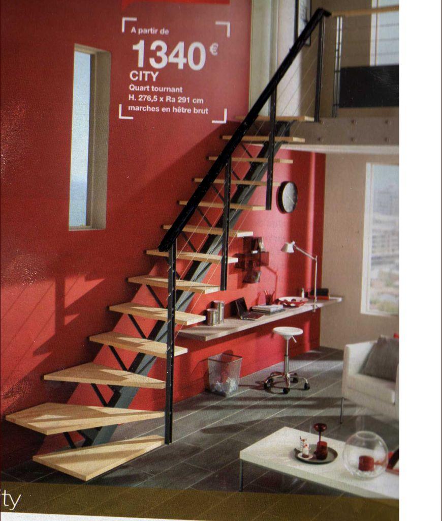choix des escaliers!! voici celui de chez Lapeyre (je crois que c'est celui que je préfère..)