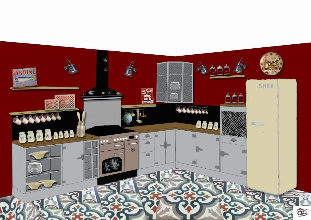 Plein de questions cr dence hotte piano plan travail 8 messages - Hotte pour piano de cuisson ...