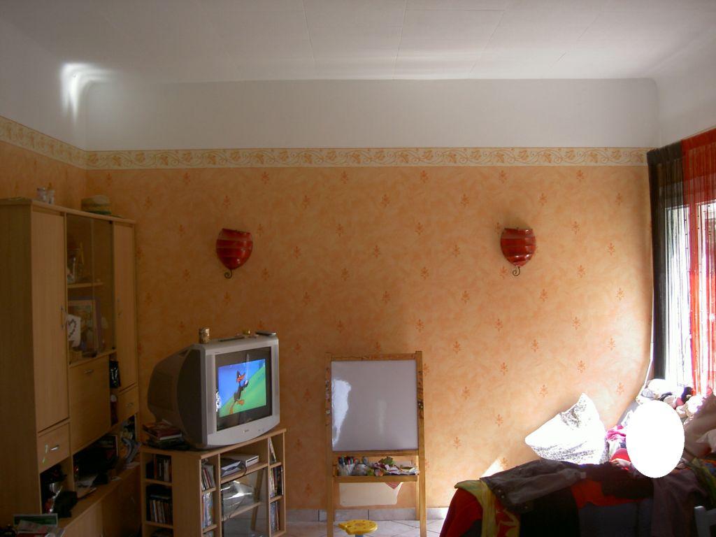 cloison carreaux de plâtre côté salon