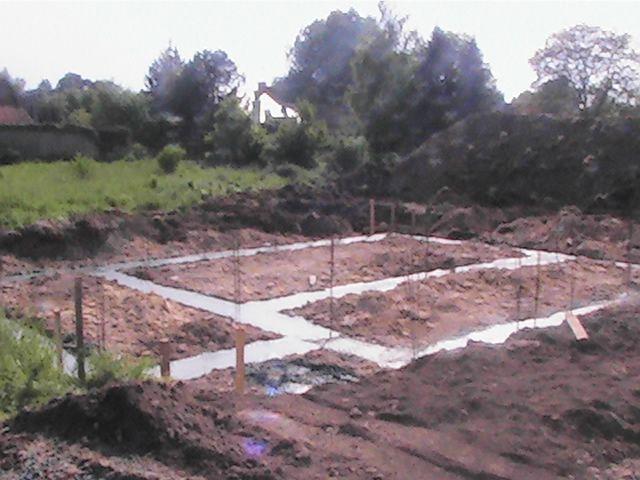 Fondations maisons B