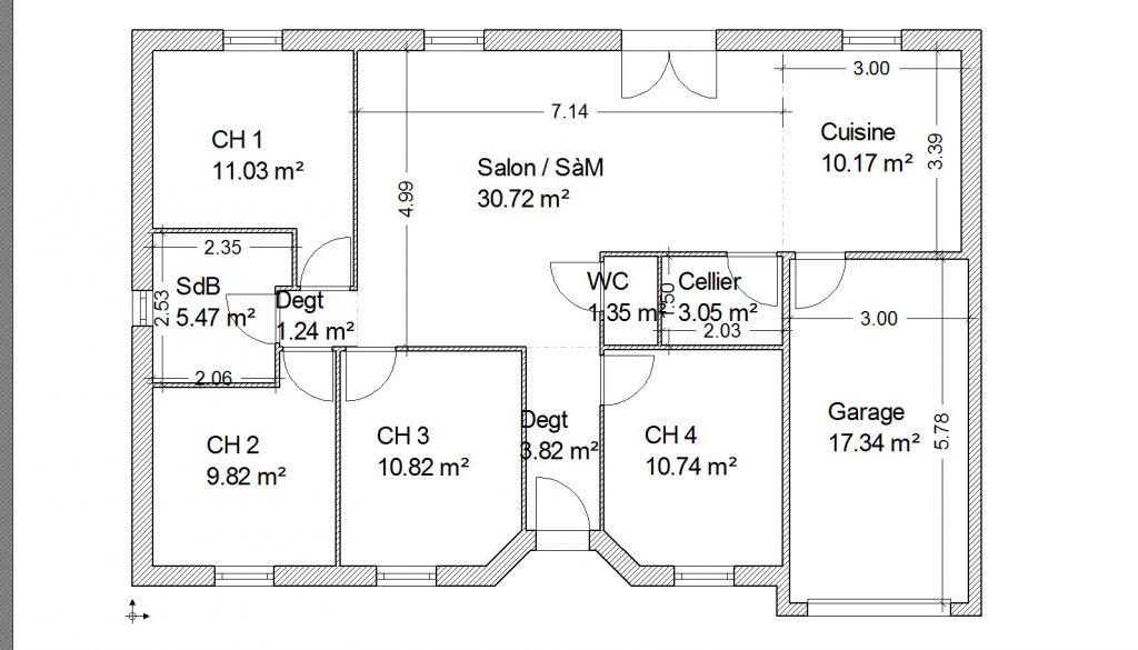 Id es pour r am nager un plan de constructeur 37 messages for Idees plan maison