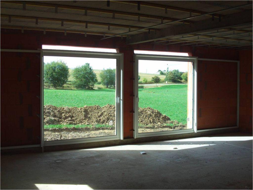 Nos baies vitrées a ouverture en galandage