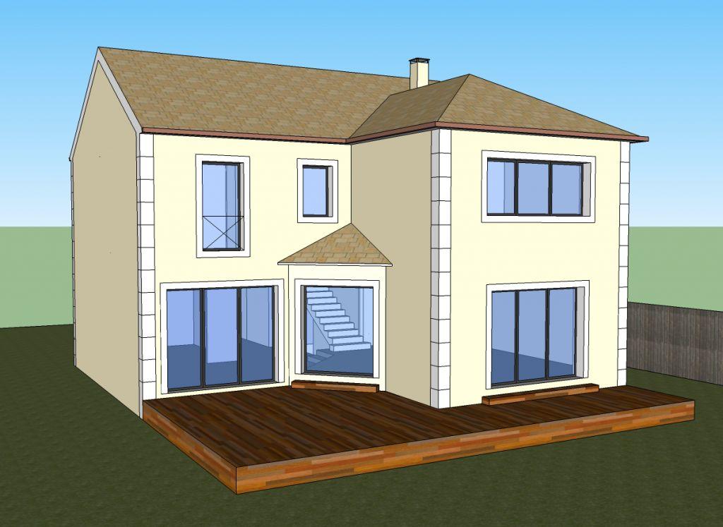 une maison bbc avec yvelines tradition hauts de seine. Black Bedroom Furniture Sets. Home Design Ideas