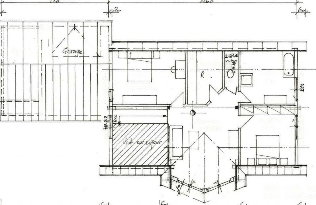 Les plans de l'étage