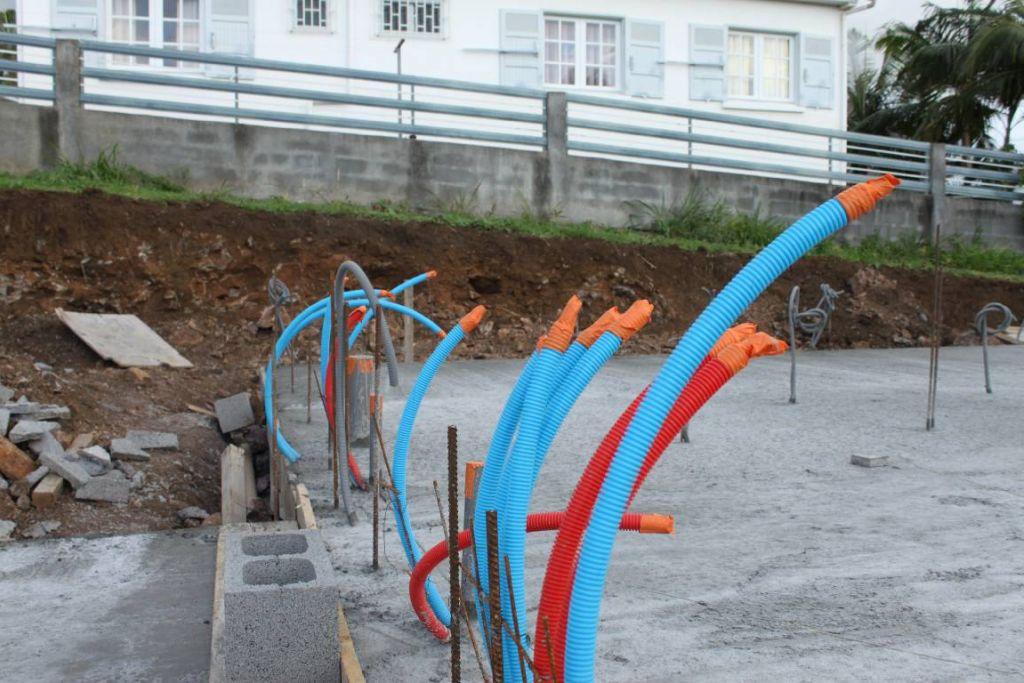 les tubes PER RETUBE pour l'alimentation en eau