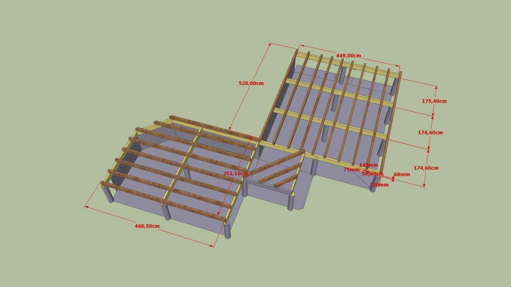 calepinage de terrasse 4 messages. Black Bedroom Furniture Sets. Home Design Ideas