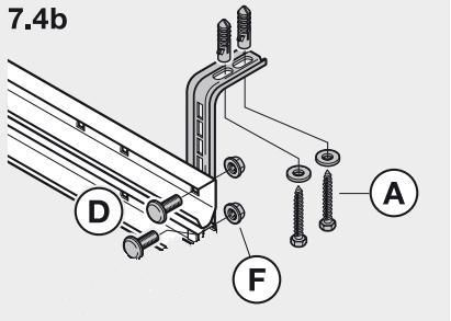 Probleme fixation rail porte garage sectionnelle 4 messages - Rail pour porte de garage ...