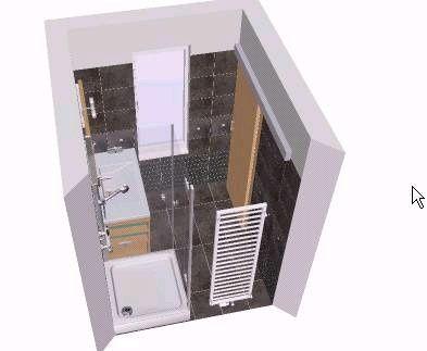 Possibilité salle d'eau 2