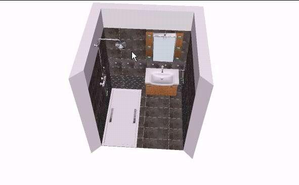 Possibilité salle d'eau 1