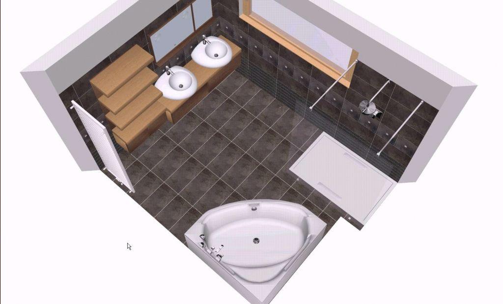 Salle de bain disposition 1