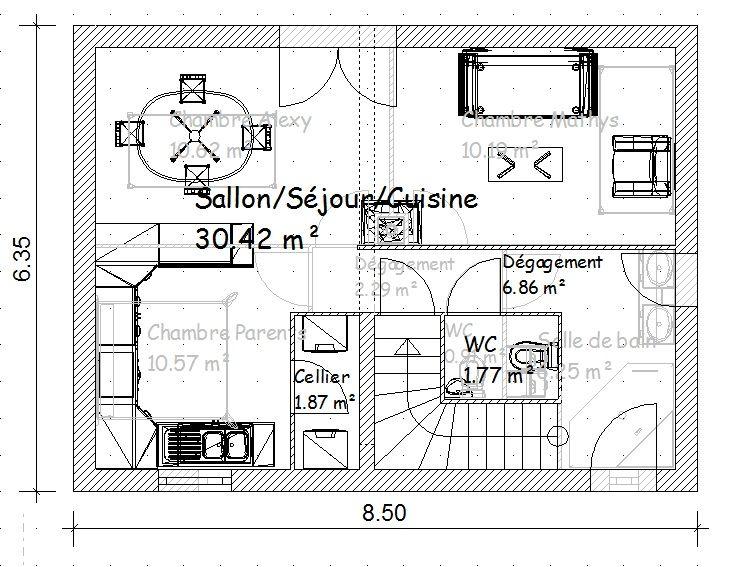 Plan de ma maison r 1 17 messages for Plan de ma maison