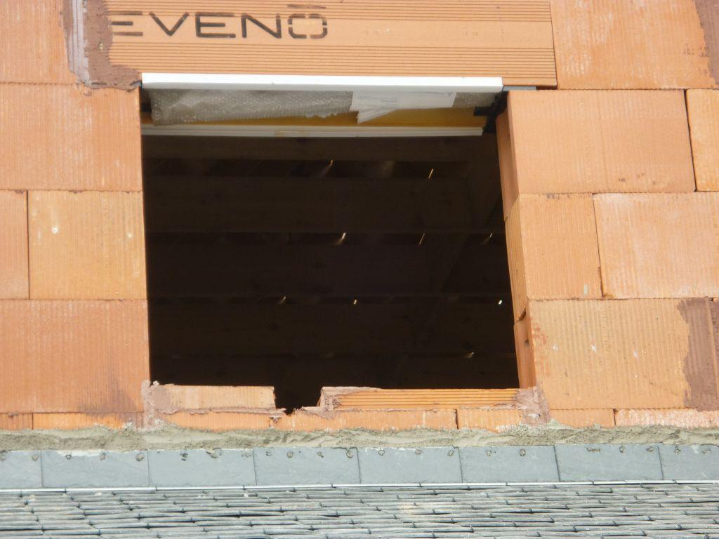 Construction clefs d 39 or r serves non lev es finistere for Appui de fenetre brique
