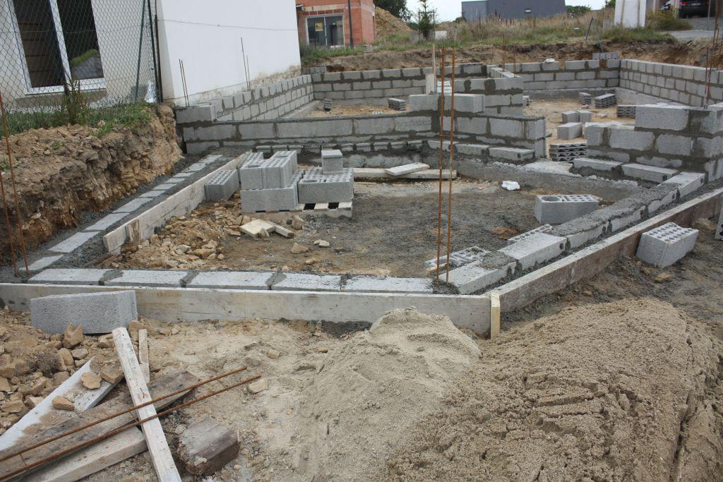 fondation de la terrasse