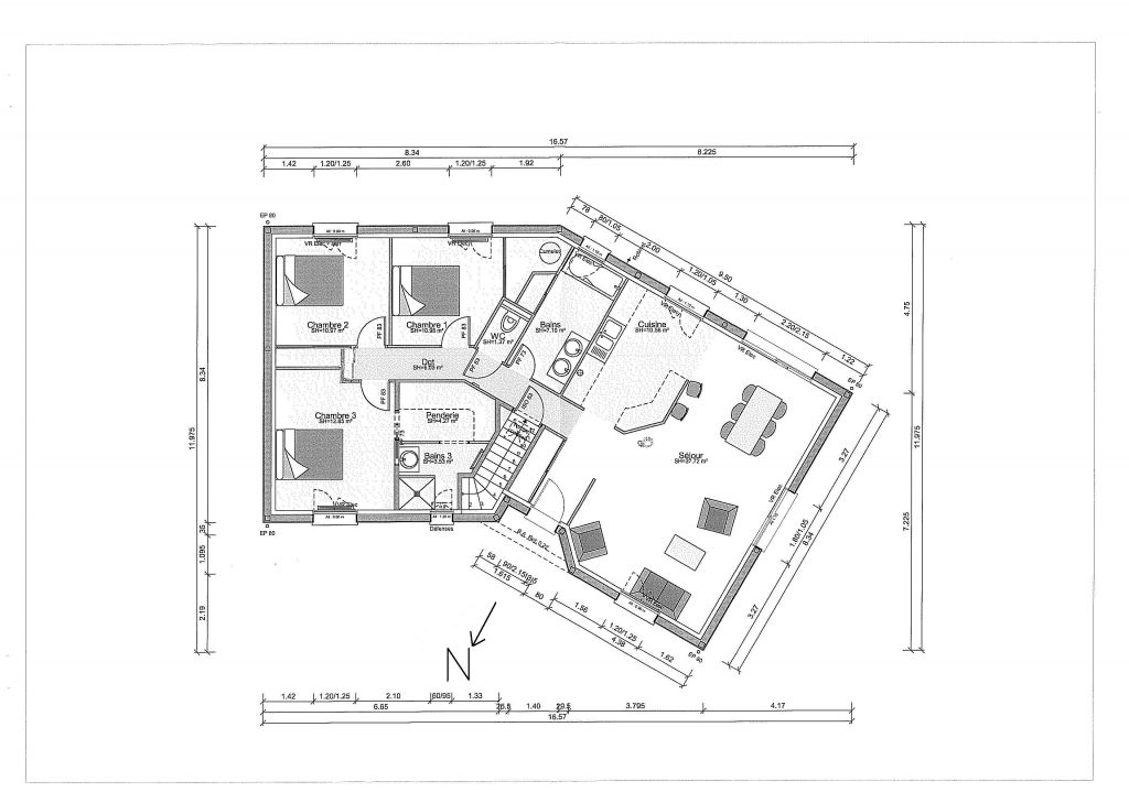 Vos avis sur plan maison en v 6 messages for Trouver des plans de construction