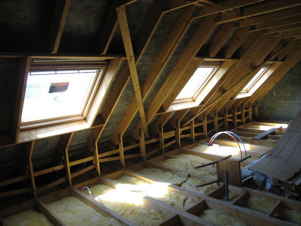 Plancher bois + Isolation pour un aménagement d'étage 7 messages # Isolation Plancher Bois Étage