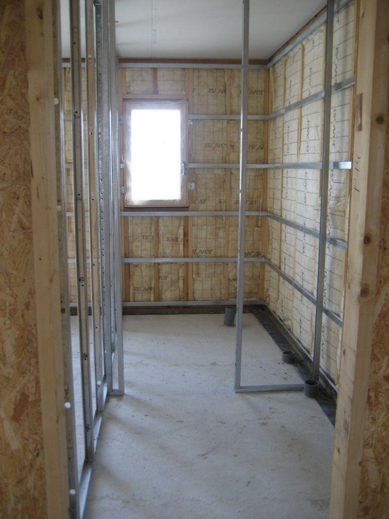 poser du placoplatre dans une maison ossature bois 28. Black Bedroom Furniture Sets. Home Design Ideas