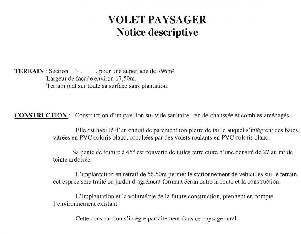 L 39 tage combles am nag es 19 septembre 2011 facades for Notice descriptive permis de construire
