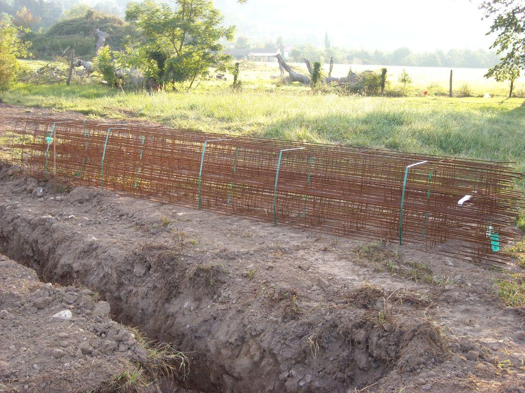 Le fer a destination des fouilles ...