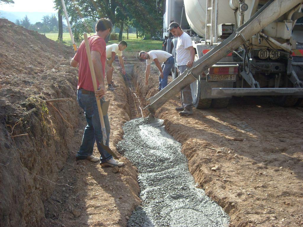 Et c'est parti !! du beton du beton de beton !!