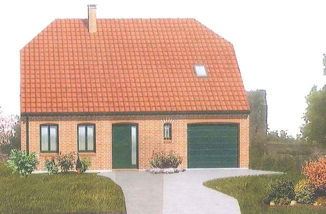 Vue facade de la maison