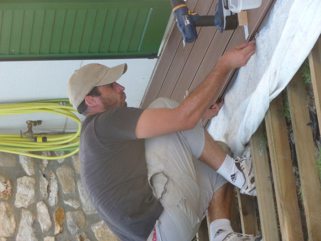Terrasse composite sur plot pvc 6 messages for Pose de lames de terrasse