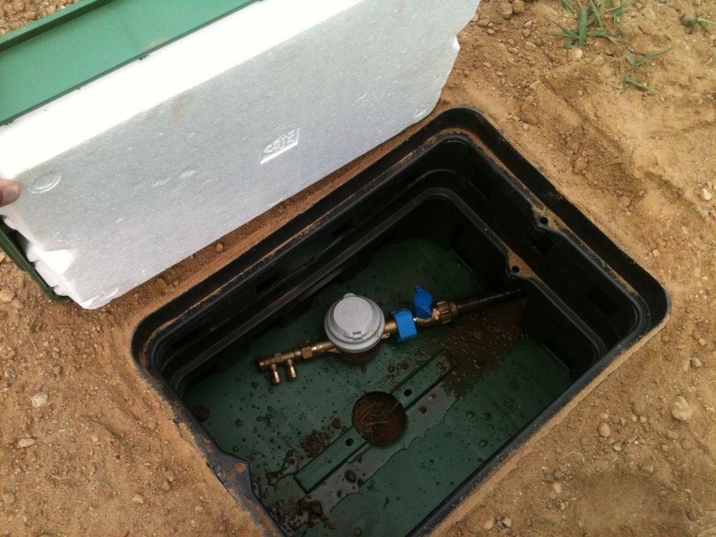 Compteur eau pret a etre utilisé