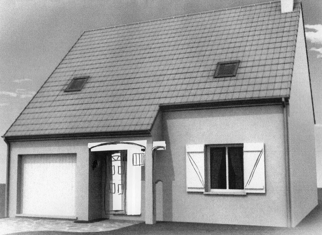 Ces sont les modifications extérieurs de la maison à partir d'un croquis du constructeur