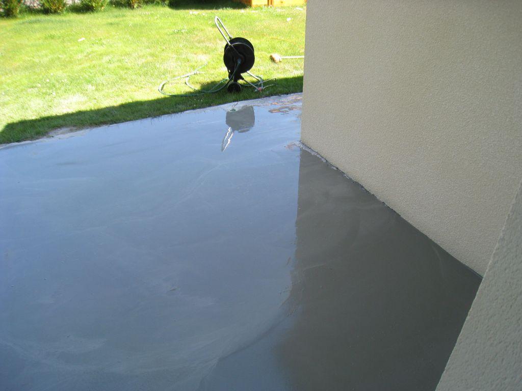 Finest Ragreage Exterieur Terrasse With Ragrage Terrasse Bton