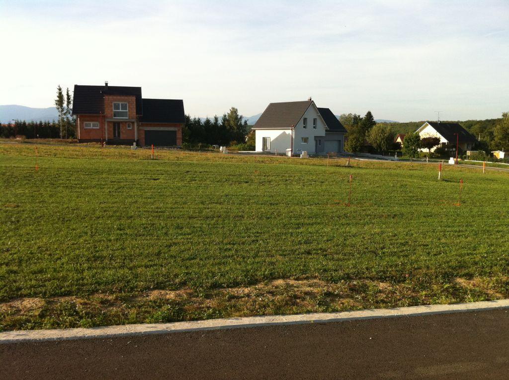 Implantation de la maison : Vue d'un coté de la rue