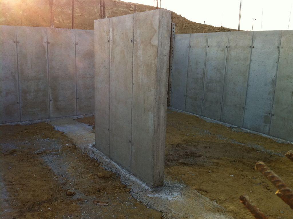 Murs de la cave : Mur de refend