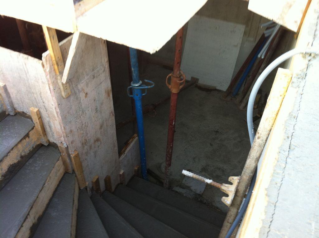 Escalier de la cave